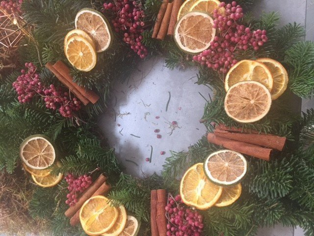 THE LARDER AT BUTLERS RETREAT & BLOMST LONDON PRESENT FESTIVE WREATH MAKING – 4TH DEC 2016